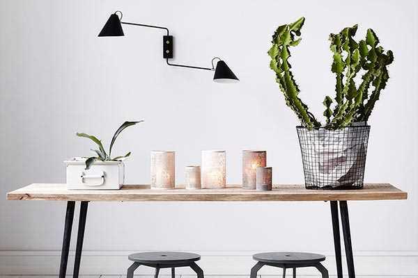 Licht im dänischen Wohnstil